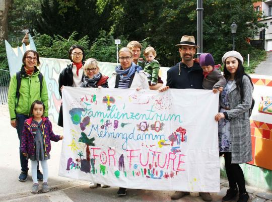 Fridays For Future - Familienzentrum Mehringdamm Pestalozzi-Fröbel-Haus Berlin 2019